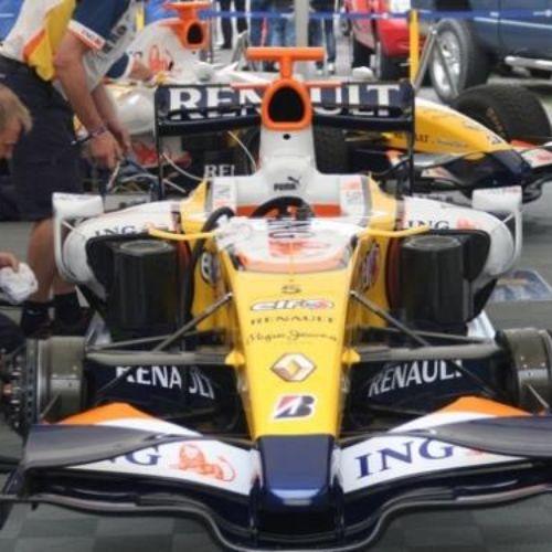 ING Renault F1 Pitbox